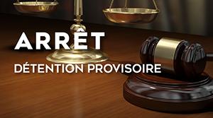 Détention provisoire